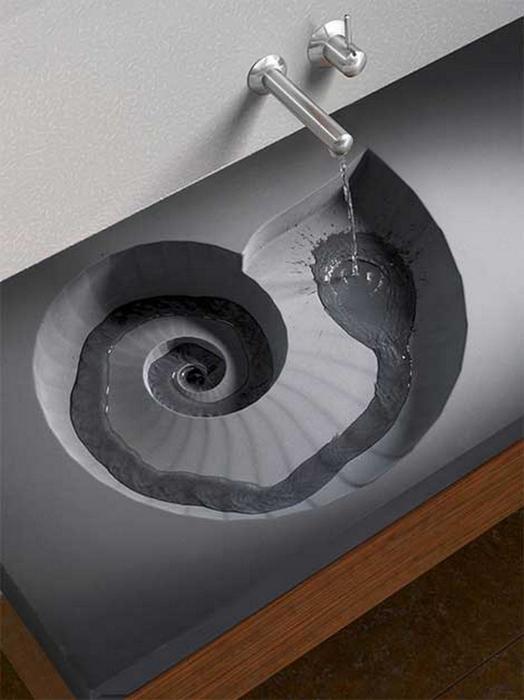 Креативные раковины для туалета и ванной 17 (524x700, 207Kb)