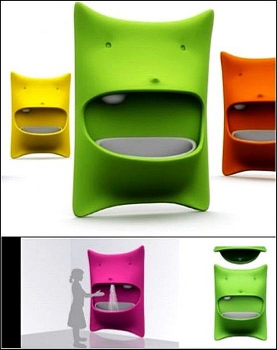 Креативные раковины для туалета и ванной 19 (555x700, 243Kb)