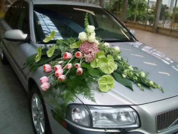 Третья как украсить свадебные машины