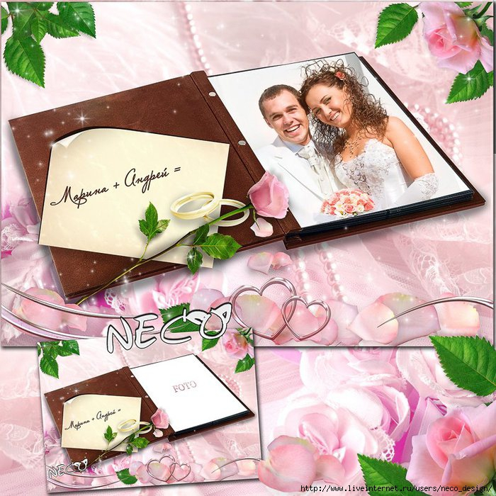 1334576289_Wedding_frame_in_the_form_of_the_open_album (700x700, 319Kb)