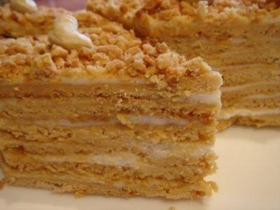Торт со сгущенкой рецепт фото.