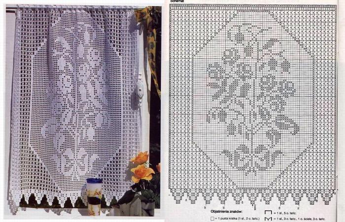 Филе шторы подборка (33)