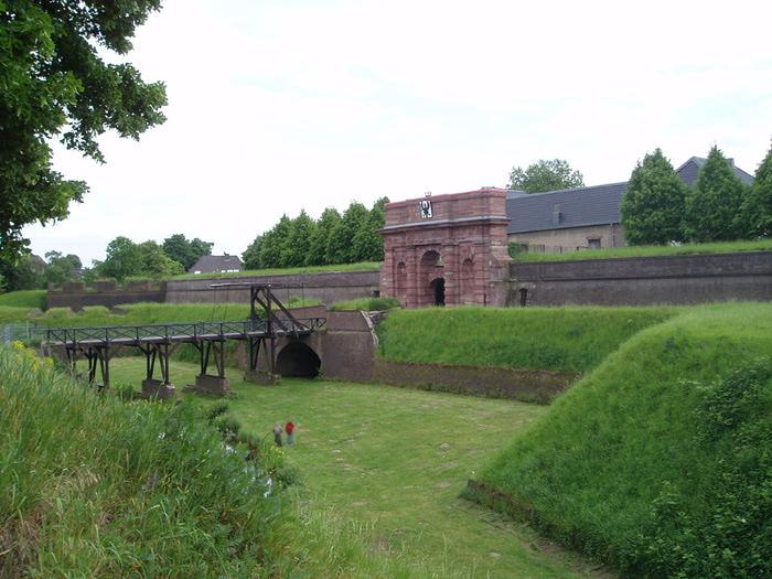 Везель на Рейне, крепость, с которой был знаком Михайло Ломоносов