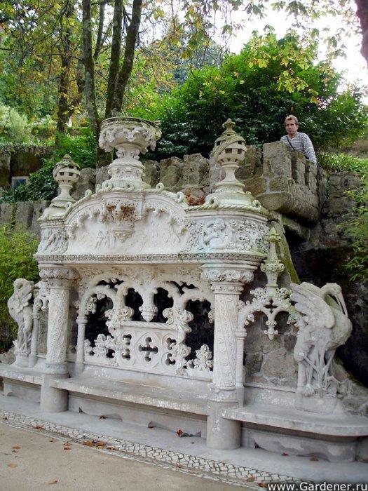 парк Quinta da Regaleira фото