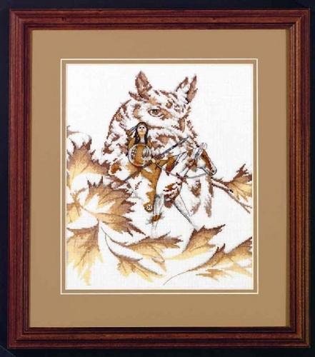 свой цитатник или сообщество!  Совы, тигр, котята.  6 схем.  Вышивка крестом, схемы.  Прочитать целикомВ.