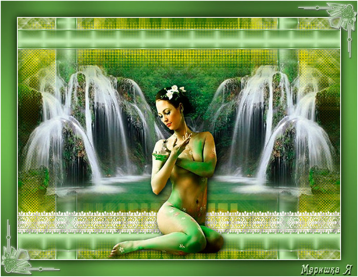 водопад-и-девушка (700x541, 200Kb)
