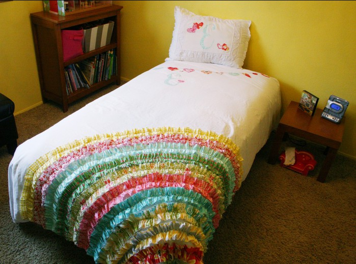 Сшить покрывало на кровать своими руками мастер