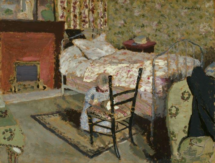 Аннетт Руссель с сломанный стул , с. 1900 (700x531, 81Kb)