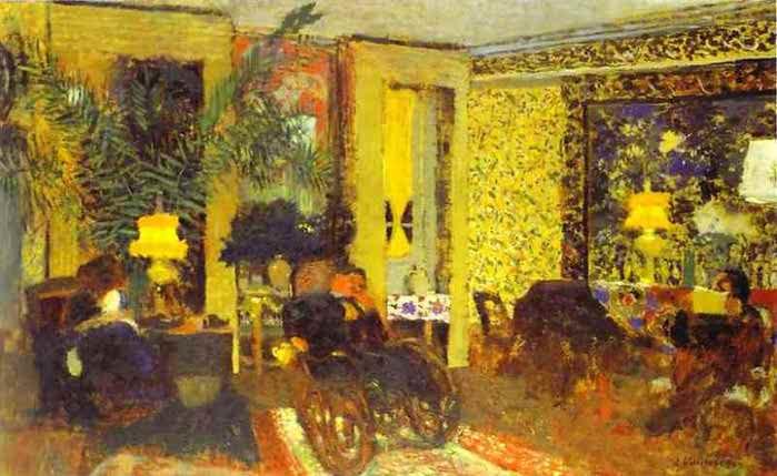 Гостиная с тремя лампы 1899 (700x429, 39Kb)