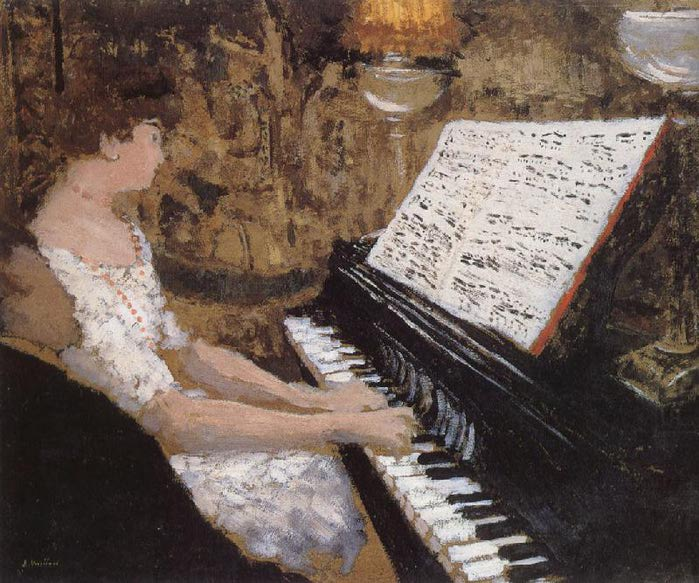 Дама за фортепиано. (700x583, 90Kb)