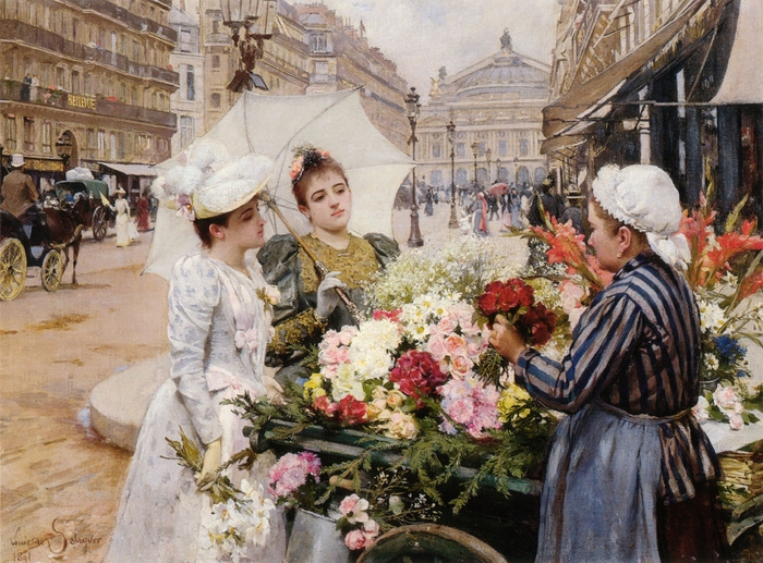 4360286_1891_Louis_Marie_de_Schryver__The_Flower_Seller_Paris (700x517, 349Kb)