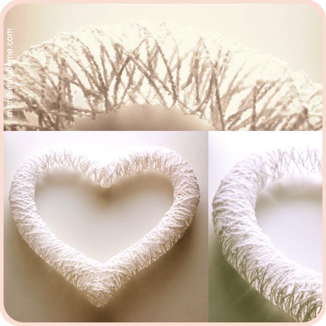 Еще одно сердечко из бисера, которое можно сплести к дню Святого поделки ангелочки на рождество.