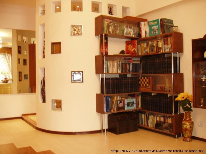 Что можно сделать старых из книжных полок.