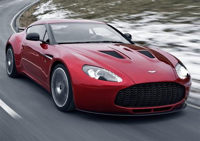 Самые красивые машины 2011 года по версии журнала Forbes Aston Martin V12 Zagato 1 (700x493, 83Kb)