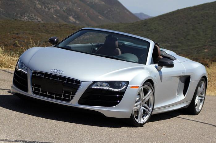Самые красивые машины 2011 года по версии журнала Forbes Audi R8 GT Spyder 1 (700x464, 85Kb)