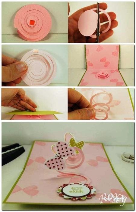 Объемная открытка с днем рождения как сделать своими руками