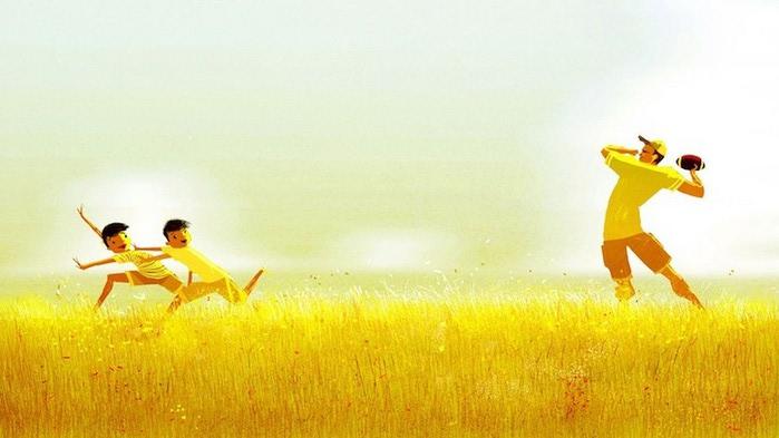 счастливое детство картинки 9 (700x393, 59Kb)