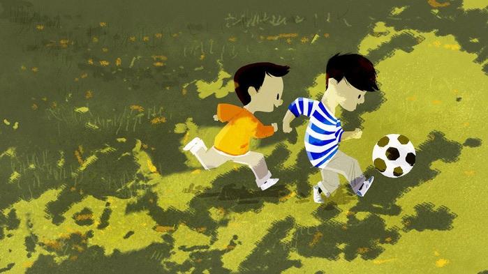 счастливое детство картинки 19 (700x393, 92Kb)