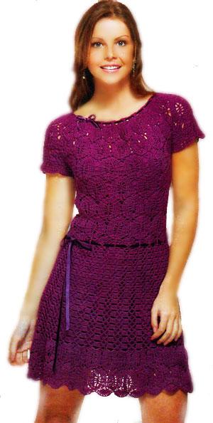 Категория: Вязание платьев и