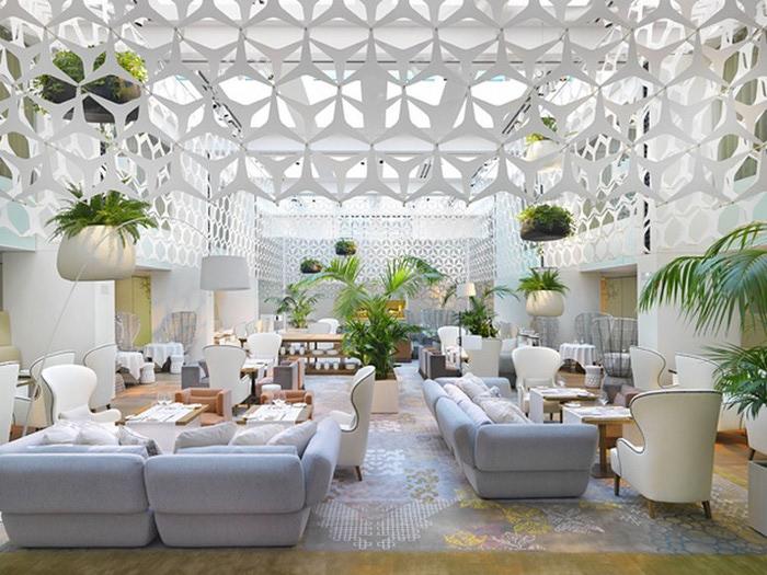 Роскошный стиль в интерьере гостиницы Mandarin Oriental Hotel 13 (700x525, 122Kb)