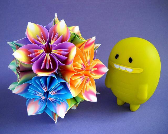 к модульному оригами.