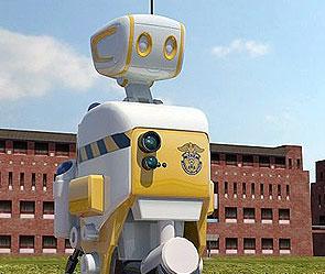 Южнокорейские инженеры тестируют прототип тюремного робота!
