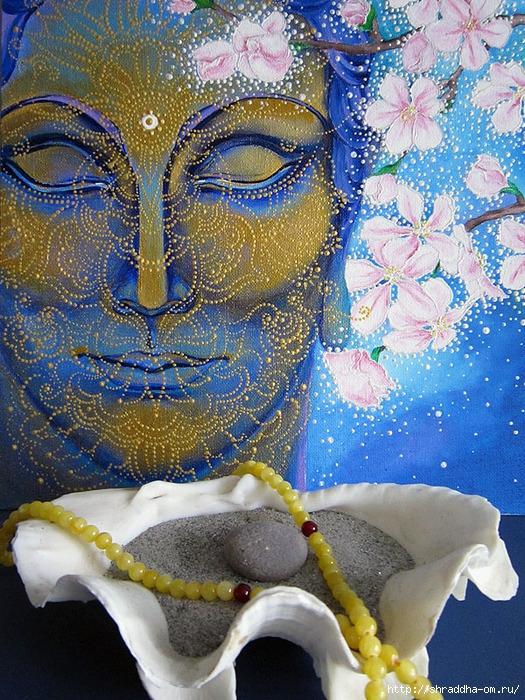 Сон разума, акрил, холст, автор Shraddha, 1 (525x700, 419Kb)