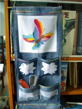 Идеи из старых джинс.  Прочитать целикомВ.