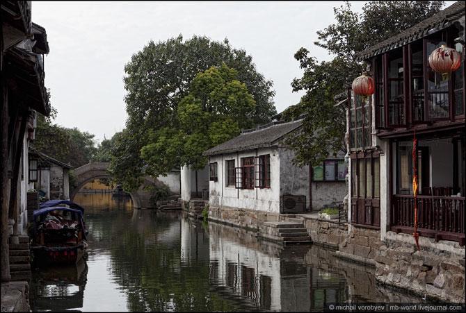 деревня на воде китай (670x451, 93Kb)