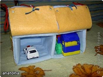 Сумка домик для мальчика своими руками