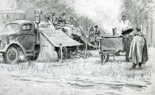 Рисунки про кухню нарисованые