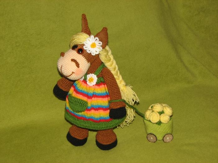 Лошадка Марфушенька