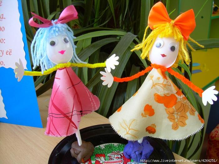 Куклы в детский сад своими руками 30