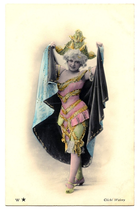 dancer fancy vintage Image GraphicsFairy007b (460x700, 177Kb)