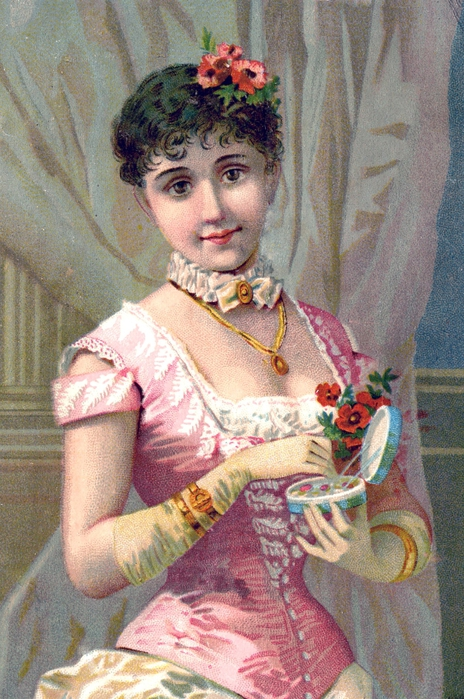 gloves lady vintage image graphicsfairy005b (464x700, 313Kb)