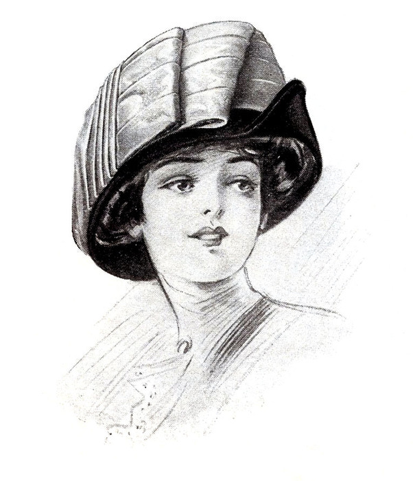 hats vintage image -graphicsfairy008c (602x700, 100Kb)