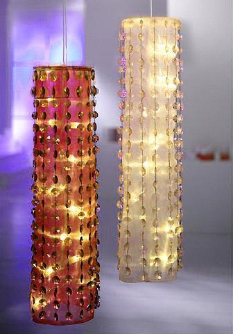 Светильники из гирлянды