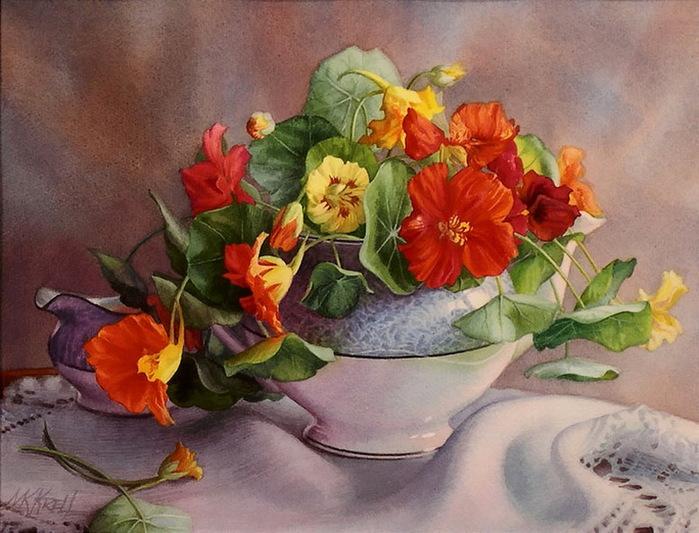 5_MaryKay Krell - Garden Blooms (700x533, 136Kb)
