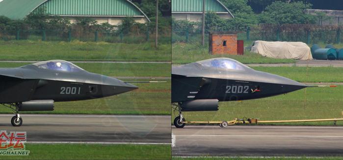 J-20 второй китайский стелс нос (700x327, 199Kb)