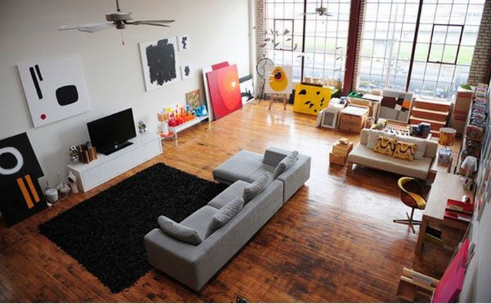 Современный дизайн стен гостиной 4 (700x434, 88Kb)