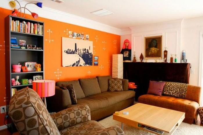 Современный дизайн стен гостиной 14 (700x467, 80Kb)