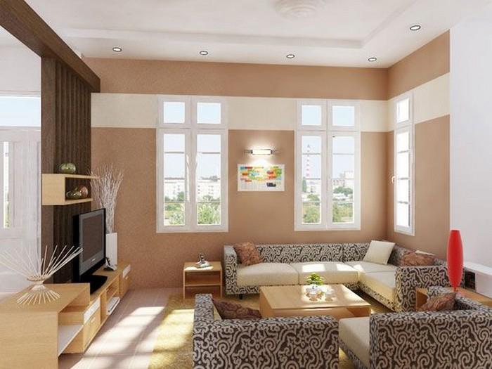 Современный дизайн стен гостиной 23 (700x525, 85Kb)