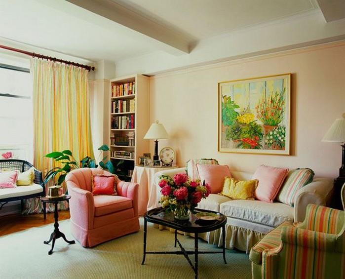 Стен гостиной цвет настроение