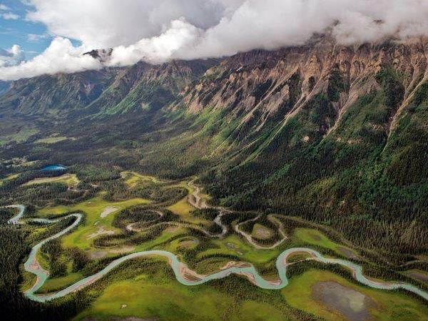Toad River, Британская Колумбия, Канада (600x450, 59Kb)