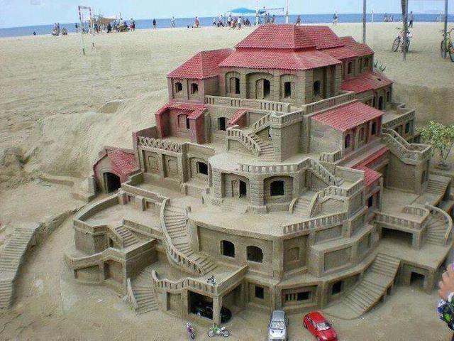 Замок из песка (640x480, 63Kb)