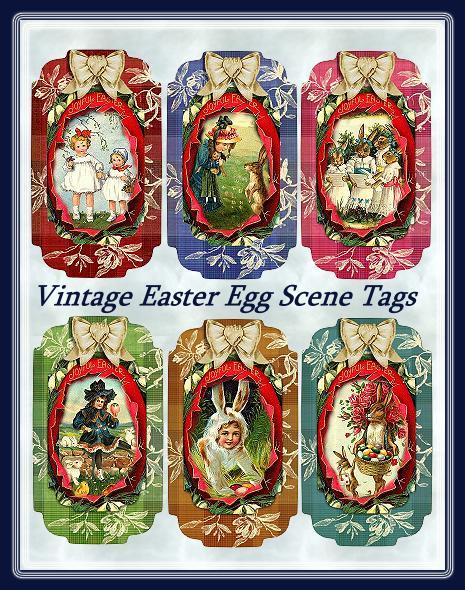 62769888_Vintage_Easter_Egg_Scene_Tags_Sample (465x590, 98Kb)