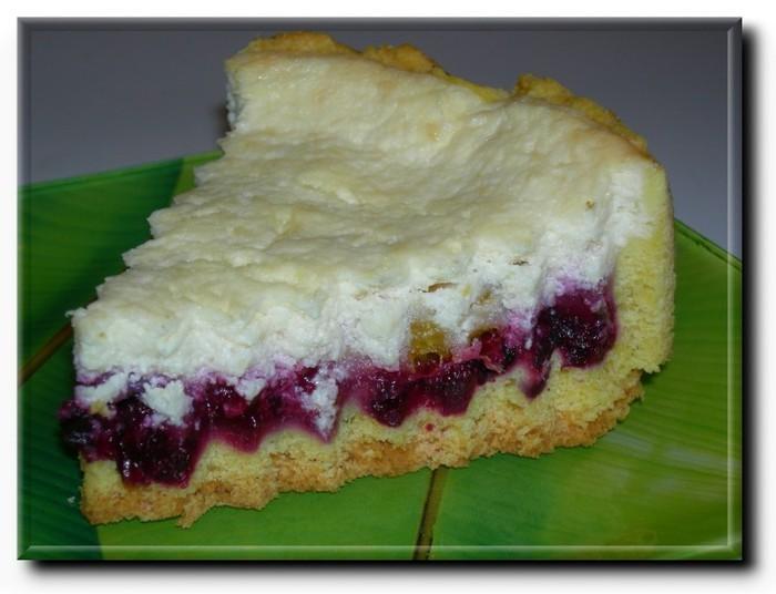 Пирог в мультиварке с вишней и творогом рецепт