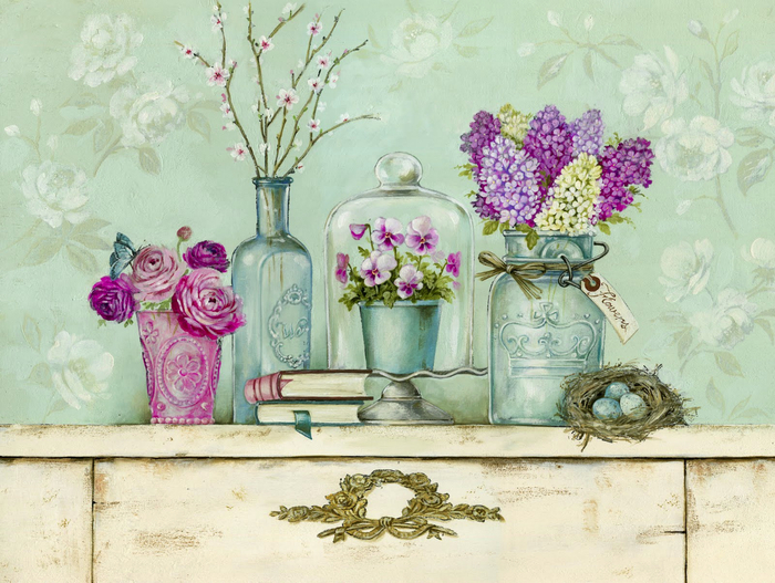 Картинки для распечатки цветы 2
