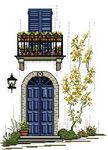 Превью JCD Blue Door with Gas Lamp (187x259, 15Kb)