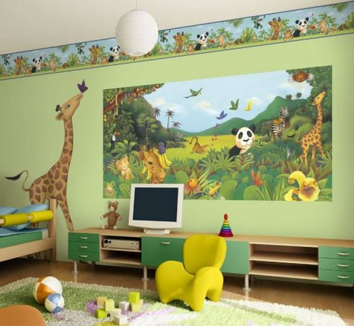 Виды обоев для комнаты мальчика 16 (700x645, 97Kb)
